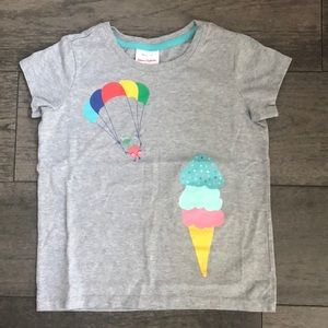 Hanna Andersson Gray 100% Cotton girl's T-shirt